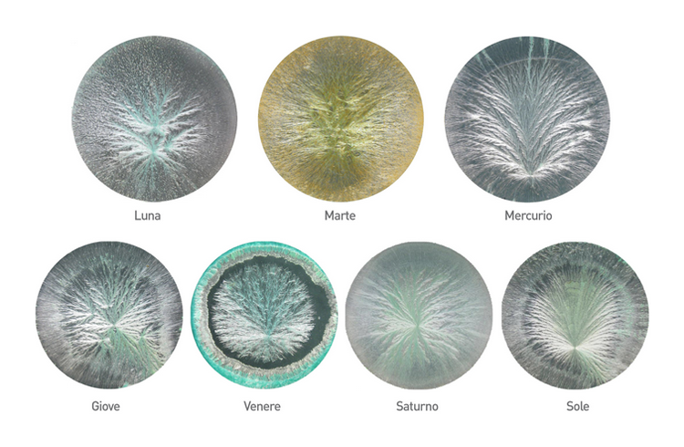 crystallization images of clay